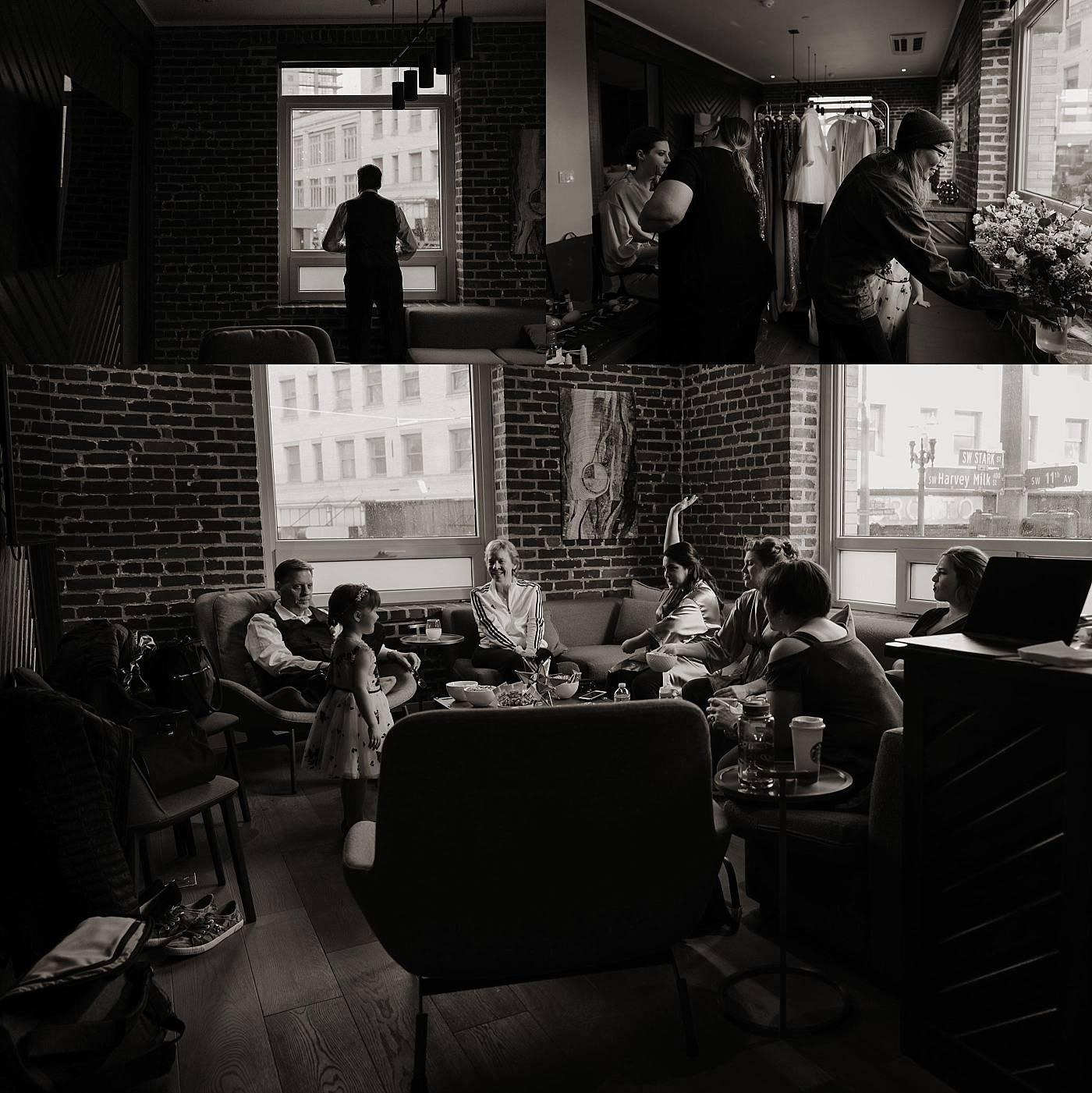 Irving Street Studio Wedding Portland Oregon Kilen Murphy